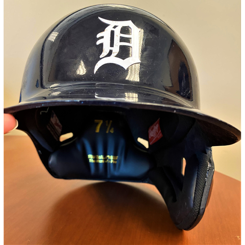 Photo of #49 Detroit Tigers Team-Issued 2020 Home Batting Helmet (MLB AUTHENTICATED)