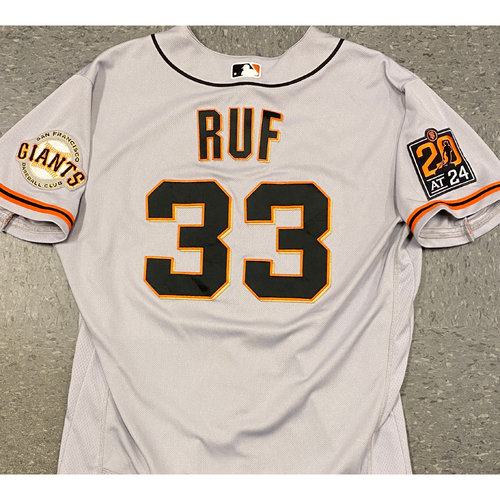 Photo of 2020 Team Issued Road Jersey - #33 Darin Ruf - Size 46