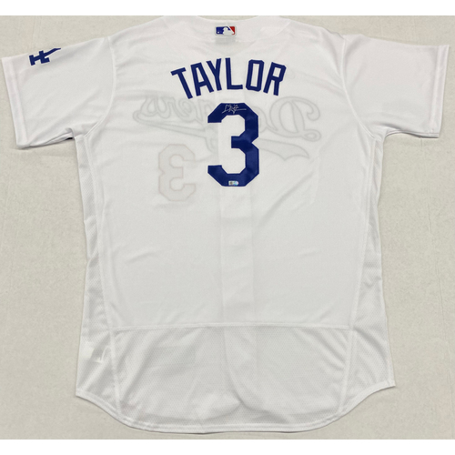 Photo of Chris Taylor Authentic Autographed Jersey
