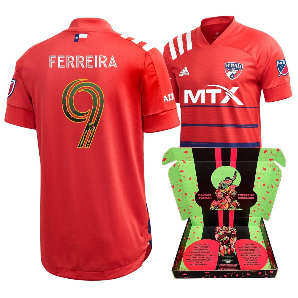 Jesus Ferreira F.C. Dallas Match-Used & Signed