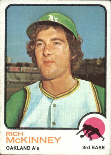 Photo of 1973 Topps #587 Rich McKinney