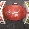 NFL - Eagles Harold Carmichael signed authentic football