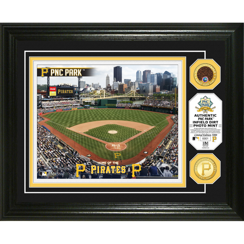 Photo of Serial #1! Pittsburgh Pirates Dirt Coin Photo Mint