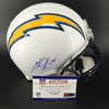 Chargers - Chargers Melvin Gordon Signed Proline Helmet