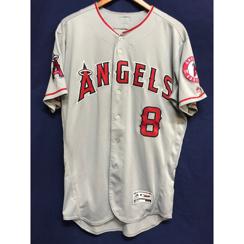 Photo of Justin Upton Game-Used Road Jersey