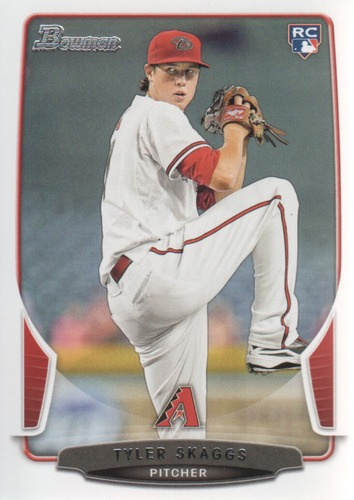 Photo of 2013 Bowman #216 Tyler Skaggs RC