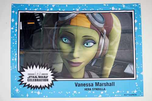 Vanessa Marshall 5' X 7' Autographed 1-of-1 Banner from 2019 Star Wars Celebration