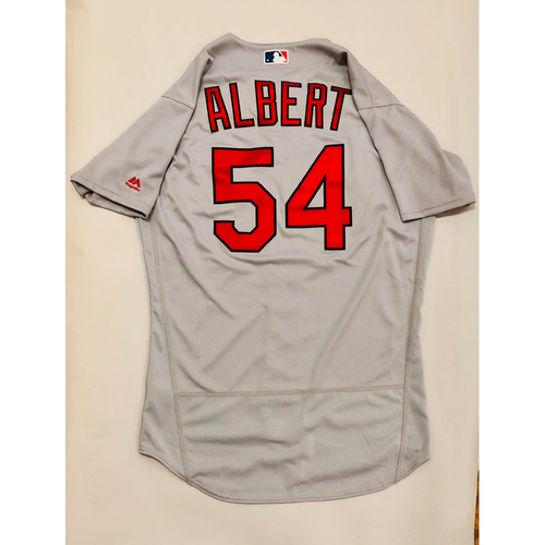 Photo of 2019 Mexico Series Game Used Jersey - Jeff Albert Size 44 (St. Louis Cardinals)