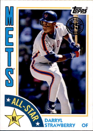Photo of 2019 Topps '84 Topps All Stars #84ASDS Darryl Strawberry