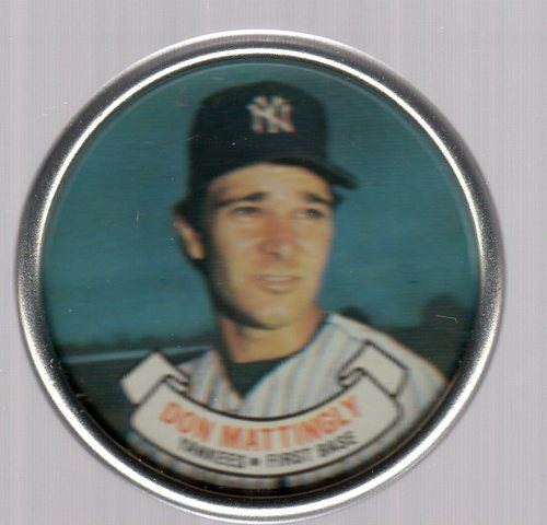 Photo of 1987 Topps Coins #17 Don Mattingly