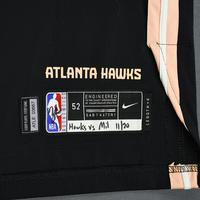 Jabari Parker - Atlanta Hawks - Game-Worn 1st Half City Edition Jersey - 2019-20 Season