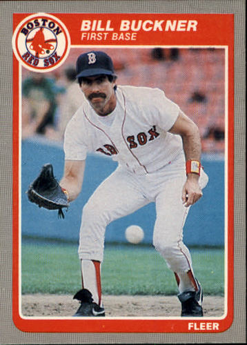 Photo of 1985 Fleer #153 Bill Buckner