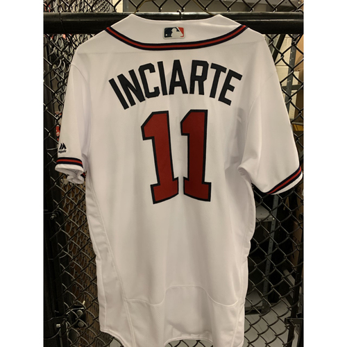 Photo of Ender Inciarte Game Used Jersey - Worn 4/4/19 - Size 44