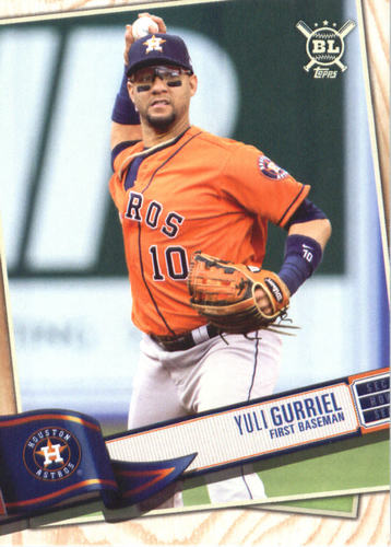 Photo of 2019 Topps Big League #318 Yuli Gurriel
