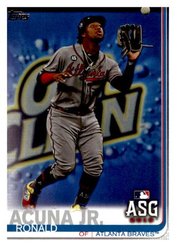 Photo of 2019 Topps Update #US220 Ronald Acuna Jr. AS