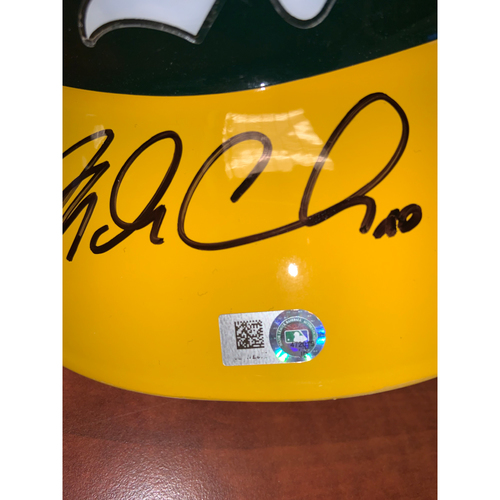 Photo of Oakland A's Community Fund: Mark Canha Autographed Helmet