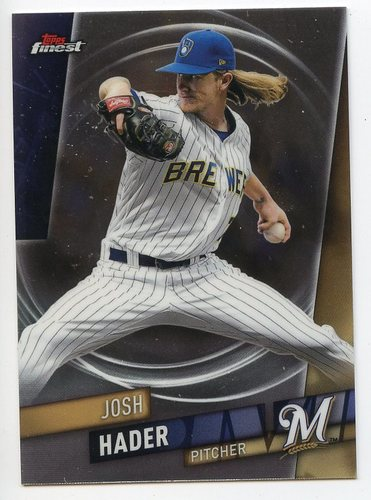 Photo of 2019 Finest #94 Josh Hader