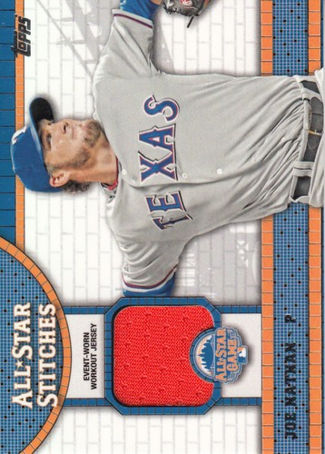 Photo of 2013 Topps Update All Star Stitches #JN Joe Nathan
