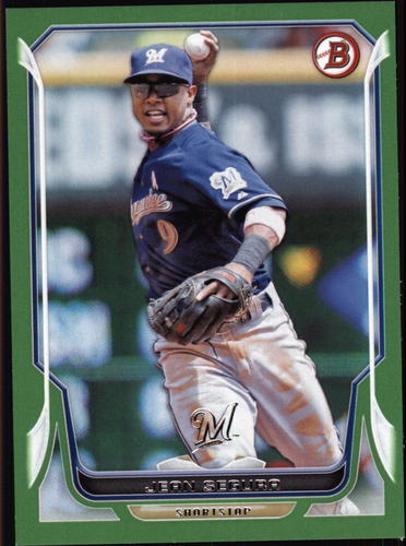 Photo of 2014 Bowman Green #63 Jean Segura