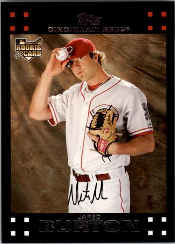 Photo of 2007 Topps #644 Jared Burton RC