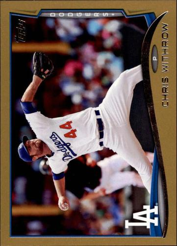 Photo of 2014 Topps Update Gold #US274 Chris Withrow