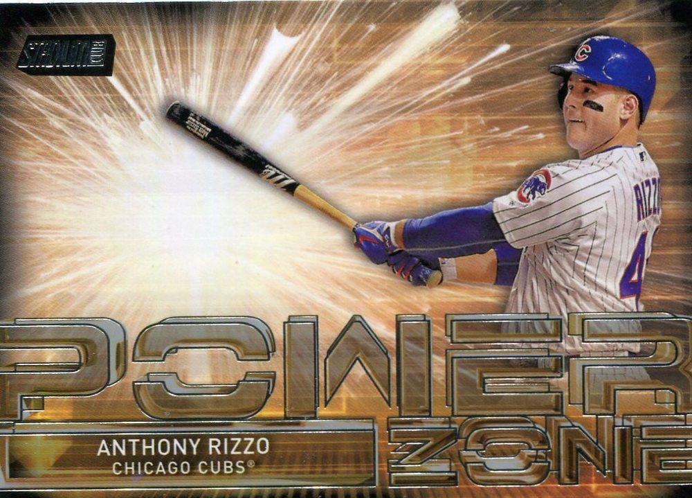 2017 Stadium Club Power Zone #PZAR Anthony Rizzo
