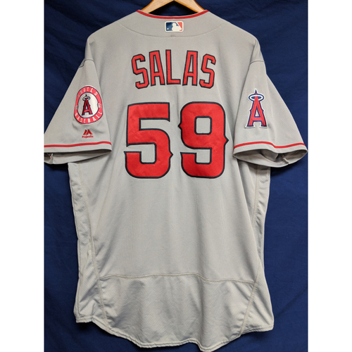 Photo of Fernando Salas Game-Used Road Jersey