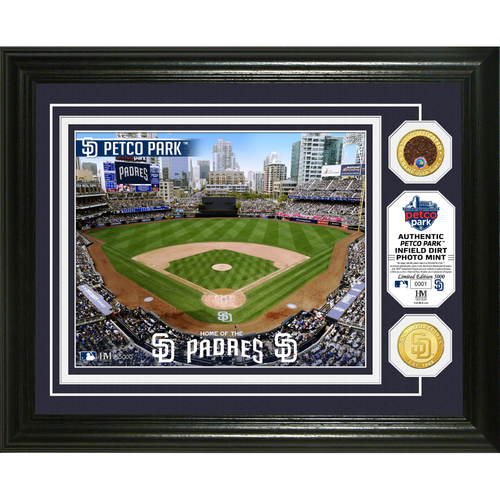 Photo of Serial #1! San Diego Padres Dirt Coin Photo Mint