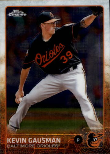 Photo of 2015 Topps Chrome #196 Kevin Gausman