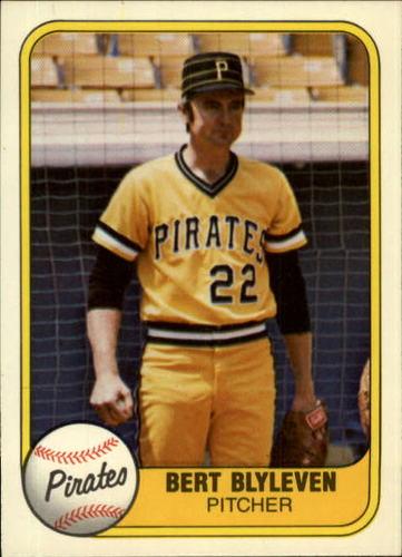 Photo of 1981 Fleer #383 Bert Blyleven