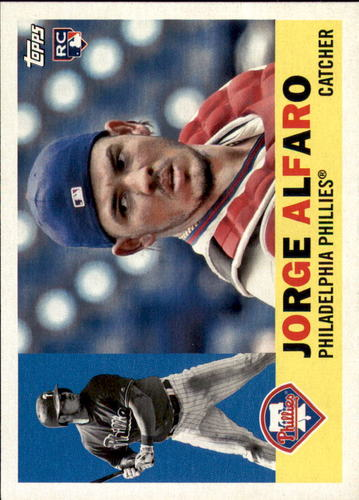Photo of 2017 Topps Archives #13 Jorge Alfaro Rookie Card