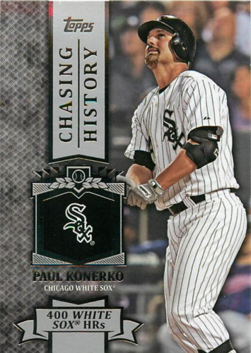 Photo of 2013 Topps Chasing History #CH48 Paul Konerko