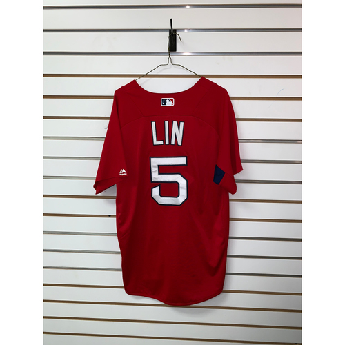 Photo of Tzu Wei Lin Team Issued Home Batting Practice Jersey