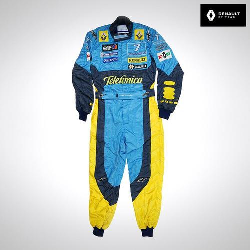 Photo of Jarno Trulli 2003 Replica Race Suit - Renault F1 Team