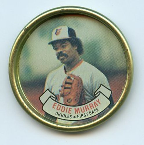 Photo of 1987 Topps Coins #19 Eddie Murray