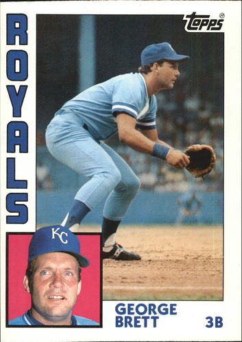 Photo of 1984 Topps Super #13 George Brett