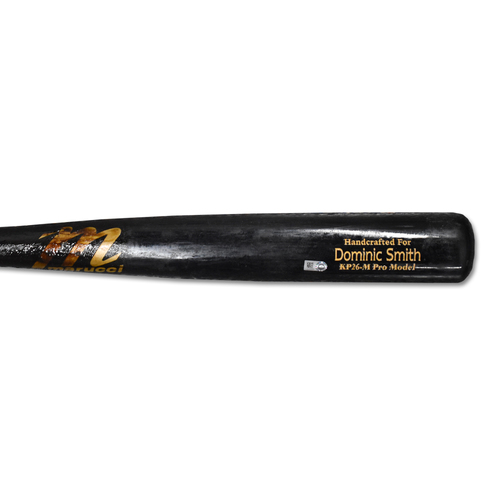 Dominic Smith #22 - Team Issued Full Bat - Black Marucci Model