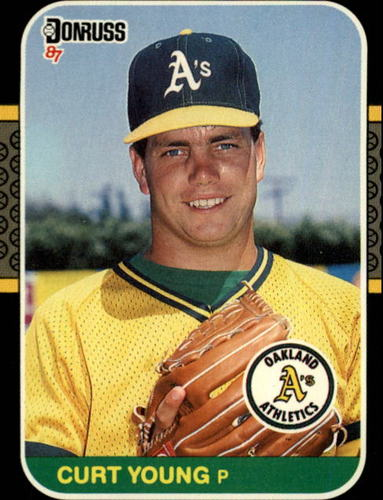 Photo of 1987 Donruss #344 Curt Young