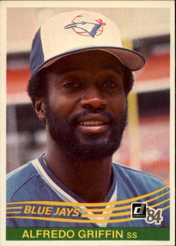 Photo of 1984 Donruss #605 Alfredo Griffin