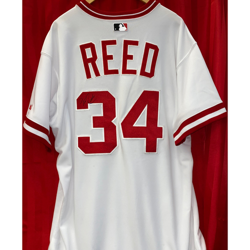 Photo of Jeff Reed Signed Jersey