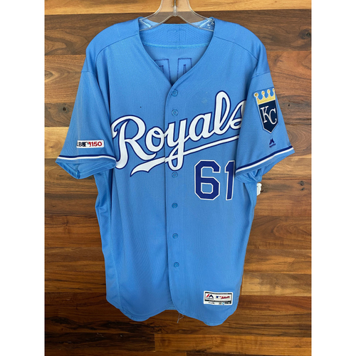 Photo of Game-Used Jersey: Kevin McCarthy (Size 46 - MIN @ KC - 9/28/19)
