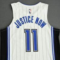 James Ennis III - Orlando Magic - Game-Worn Association Edition Jersey - 2019-20 NBA Season Restart with Social Justice Message