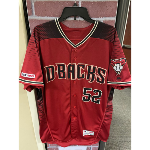 Photo of Bo Takahashi 2019 Team-Issued Red Alternate Jersey (Size 46)