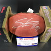 Legends - Panthers Steve Smith Signed Authentic Football