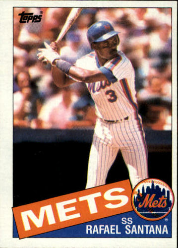 Photo of 1985 Topps #67 Rafael Santana