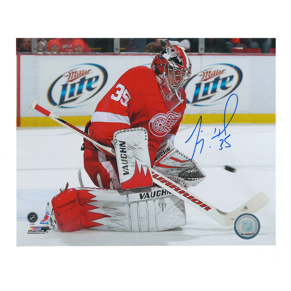 JIMMY HOWARD Signed Detroit Red Wings 8 X 10 Photo - 70295 A