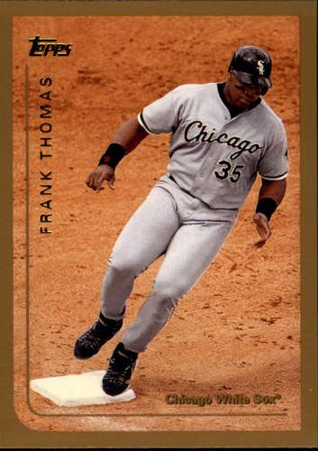 Photo of 1999 Topps #423 Frank Thomas