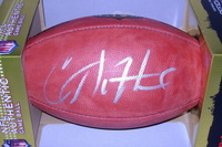 NFL - STEELERS CAMERON SUTTON SIGNED AUTHENTIC FOOTBALL