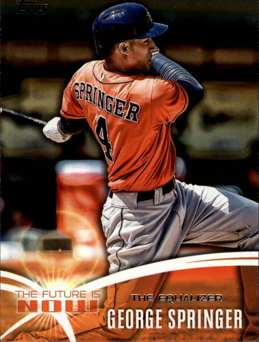 Photo of 2014 Topps The Future is Now #FNGS2 George Springer