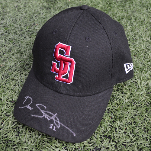 Photo of Charity Auction - Broward Education Foundation - Drew Smith #82 - Autographed & Game-Used Marjory Stoneman Douglas High School Cap
